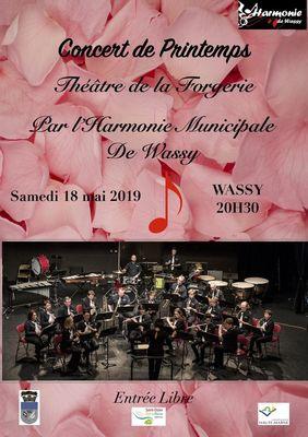 Concert Printemps Harmonie Wassy