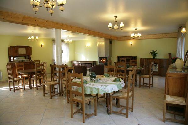 DOR Ô DER - Salle à manger - Lac du Der