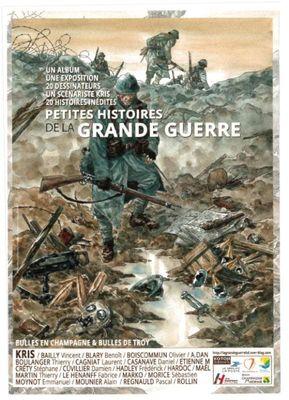 Exposition Petites histoires de la Grande Guerre - Bibliothèque Pompidou - Châlons