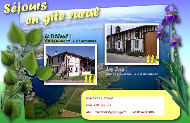 Site: gites-der-topnature.fr  (Gîte 141<8 pers> - Gîte 250 < 4 pers>. à Outines