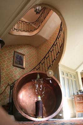 Le Clos Mortier - L'escalier menant à l'étage