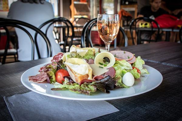 Restaurant  - Salade du chef