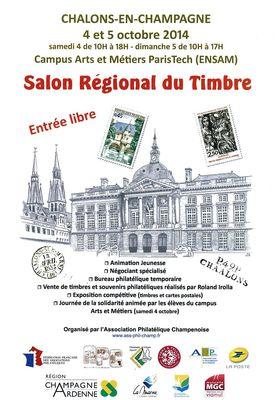 Salon régional du timbre
