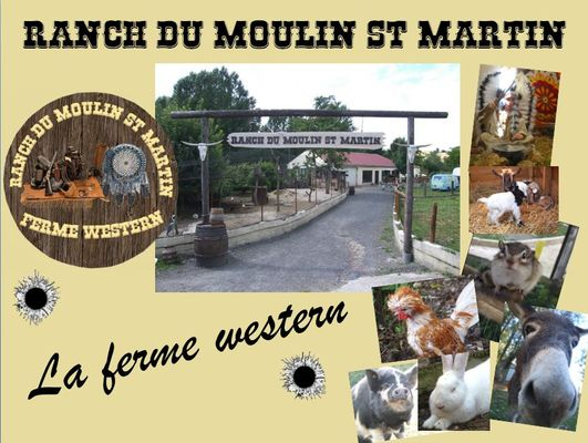 Ranch du Moulin Saint Martin - Montmirail