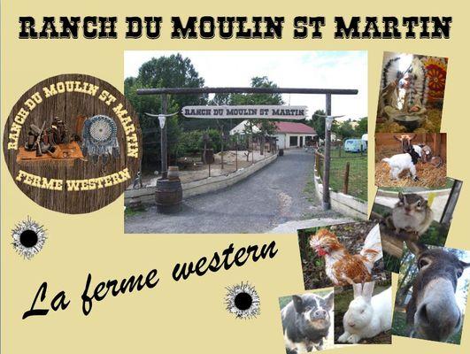 Ranch du Moulin Saint Martin - Montmirail