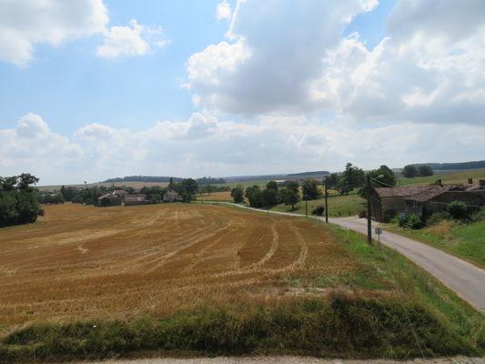 Le relais des Epeires - vue bas du village