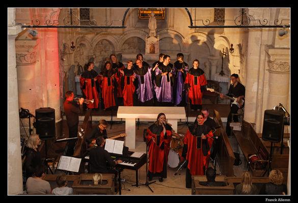 Concert Gospel Sing Sing Soissons