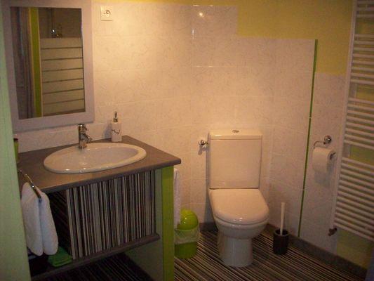 salle d'eau chambre pop