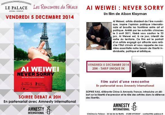 Soirée cinéma Amnesty International
