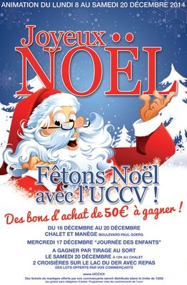 Animation commerciale Noël Vertus 2015