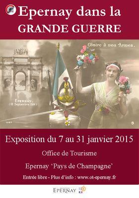 Expo Epernay dans la Grande Guerre