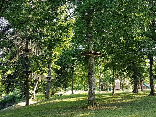 Parc Aventure Domaine du Buisson - Parc - Lac du Der