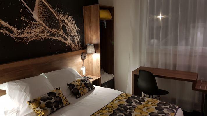 Hotel de Champagne chambre standard