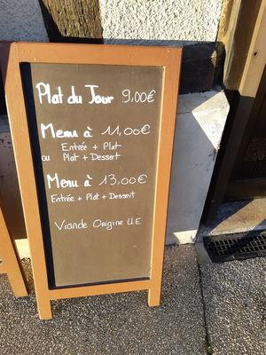 Café de la Place - Le Plat du Jour