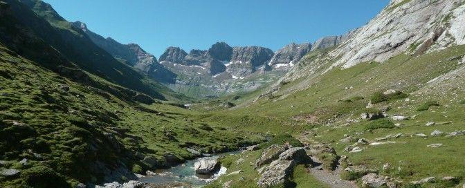 Cirque d'Estaubé Gèdre Pyrénées Mont Perdu