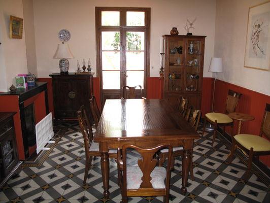 Maison Prades salle à manger 1