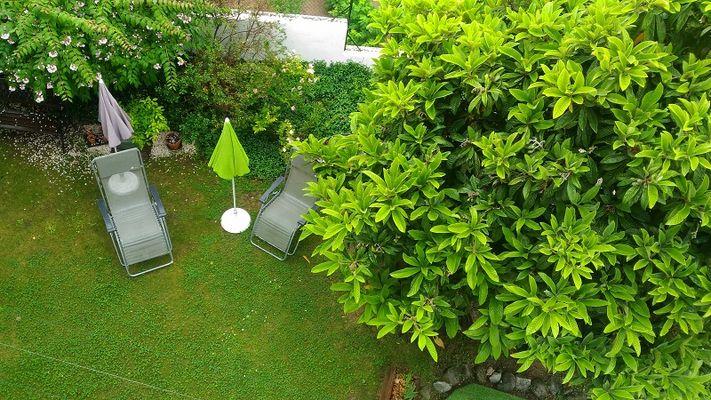 Massina, vue sur le jardin