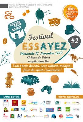 Affiche Festival Ess'ayez