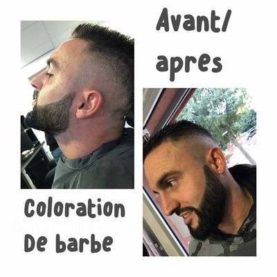 Allure d'homme barbe