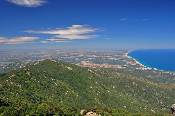 Argeles randonnée Sallfort plaine massane