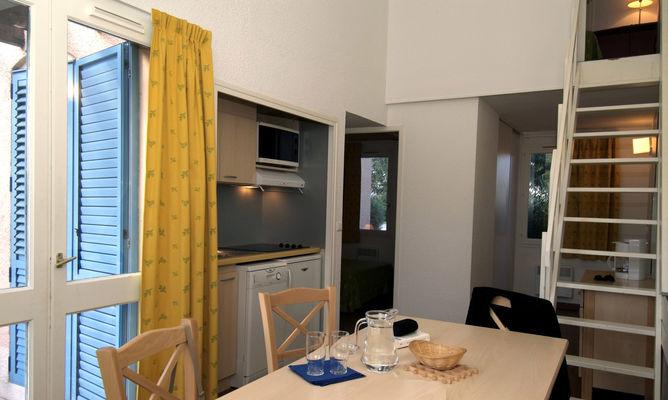 Argeles village club 3 interieur gîte