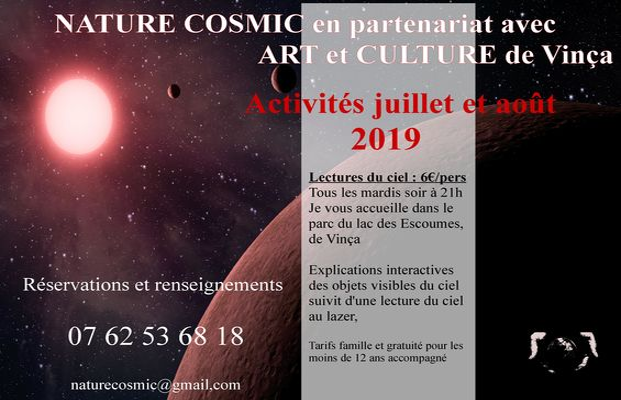 MARDIS DE L'ASTRONOMIE VINCA