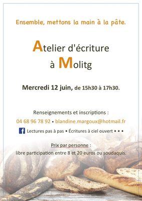 Blandine Margoux - Pain de Molitg - 12 juin - Diaporama