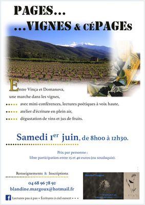 Blandine Margoux - Vignes - Diaporama - 1er juin 2019