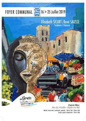 Exposition E.SICART et R. SAUSSE - Foyer Communal
