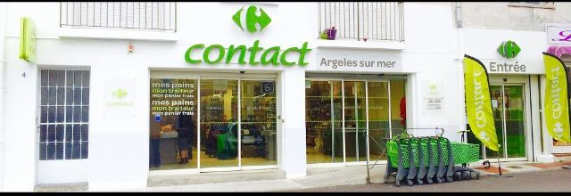 FACADE CARREFOUR CONTACT