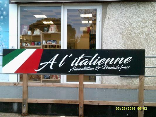 Façade à l'Italienne