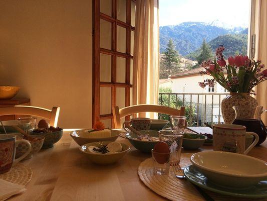 Petit dejeuner interieur