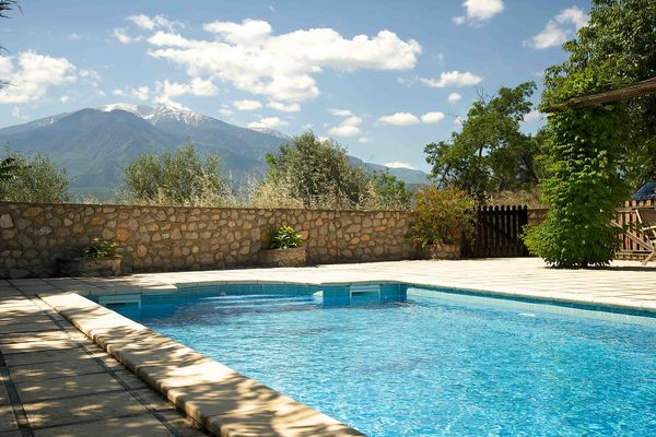 Pool and Canigou
