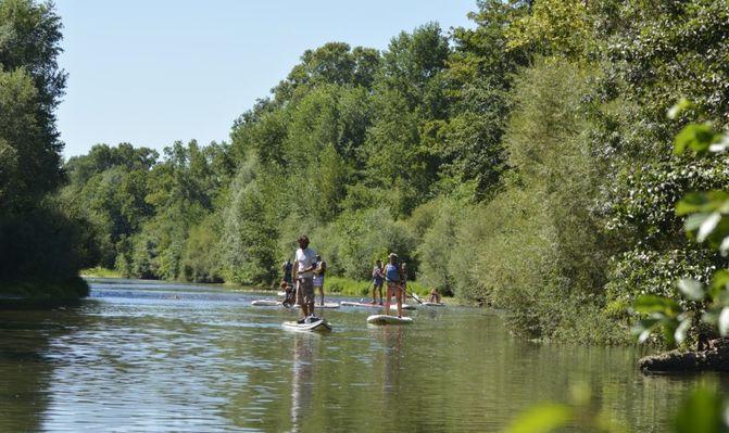 Riverside Paddle 1