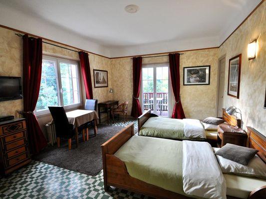 Studio Balcon - la villa du parc  (1)