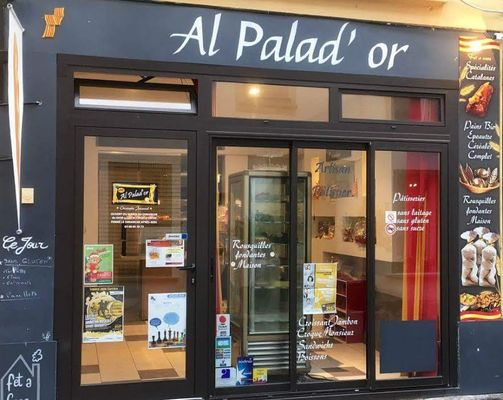 Vitrine Boulangerie Al Palad'or