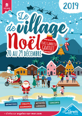 affiche Village de Noel 2019 WEB