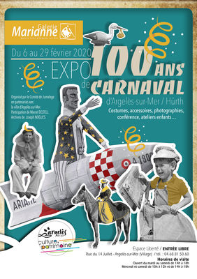 affiche expo carnaval