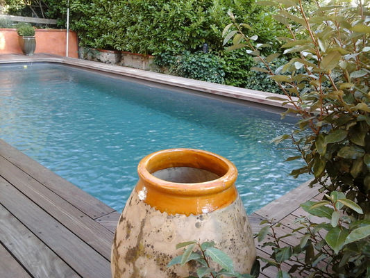 chalet saint paul piscine