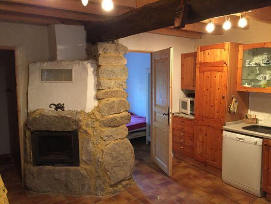 ferreria le bas    cheminee+cuisine