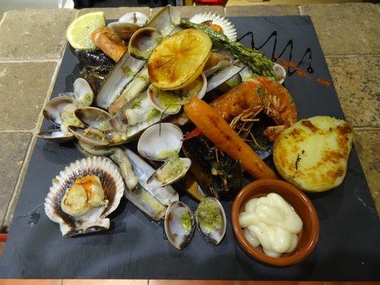 parillade poissons Casa del Port