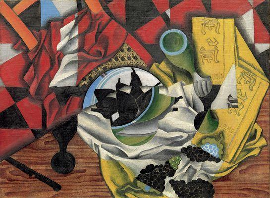 02. Poires et raisins sur une table.– Juan Gris.– Automne1913© Metropolitan Museum of Art, New York