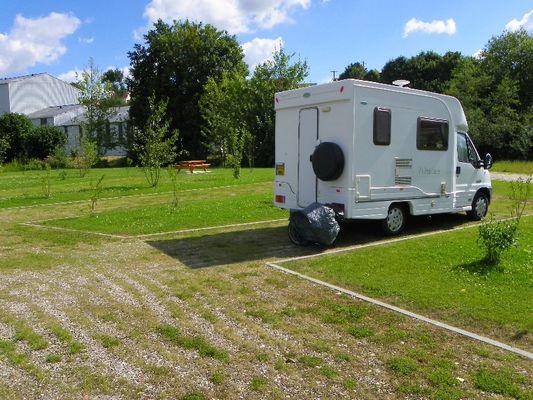 Aire de stationnement camping-cars de Auffay