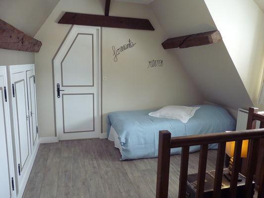 Omonville - La Charretterie - Mme Prévost - Chambre (2)