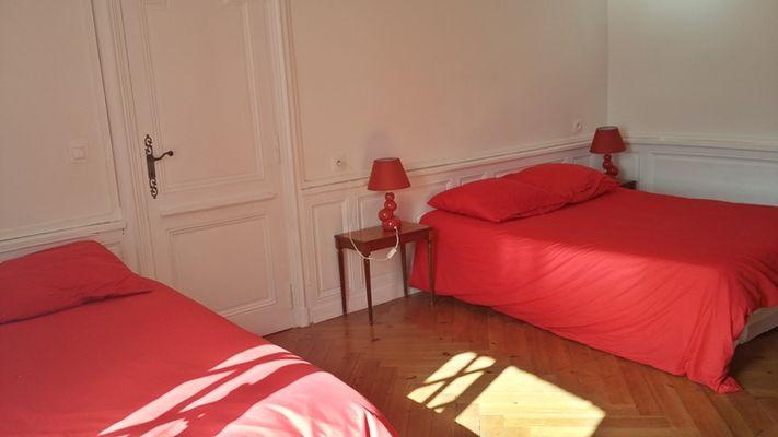 Chambre (3) - L'Ancien Relais de Poste - Mme Lebouvier - Bacqueville