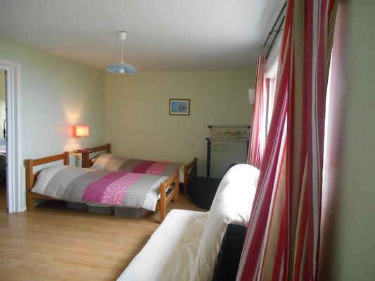 Quiberville - Villa les Mouettes - Chambre - Mme Desforges