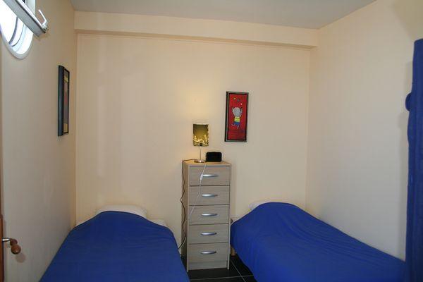 Chambres (2) - Appart'en Mer - M. Wuiame - Quiberville