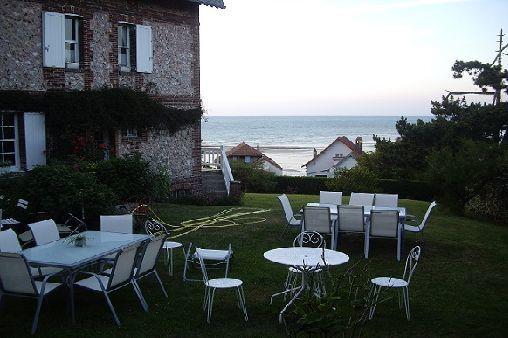 Quiberville - Villa Suzanne - Mme Champagne - Jardin