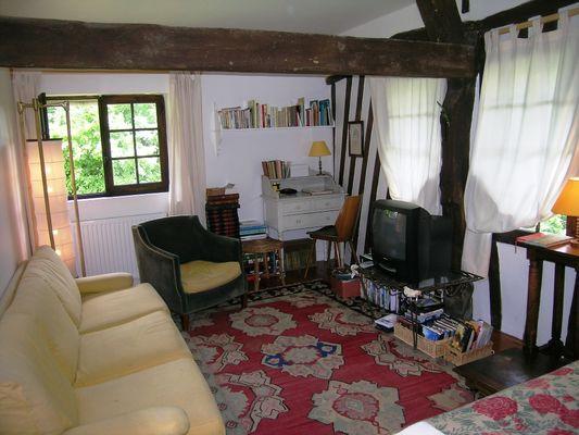 Ouville  - La Maison des Amis - Salon (1) - Mme Van Roy
