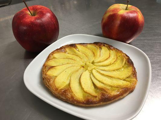 La Chaussée - Cabanes - Tarte fine aux pommes